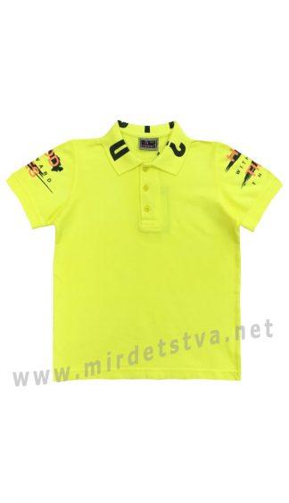 Яркая футболка-поло для мальчика Cegisa 0714 (0715)