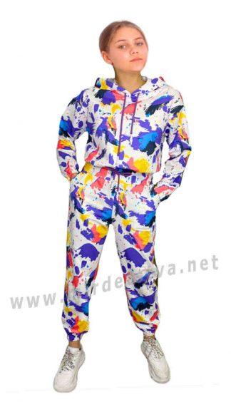 Яркий костюм для девочки подростка BlueDay`s 21049