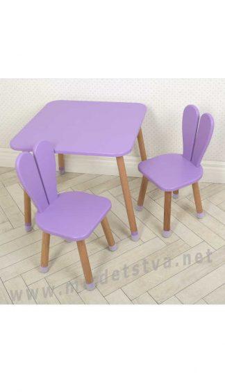 Фиолетовый комплект детской мебели Bambi 04-025VIOLET+1