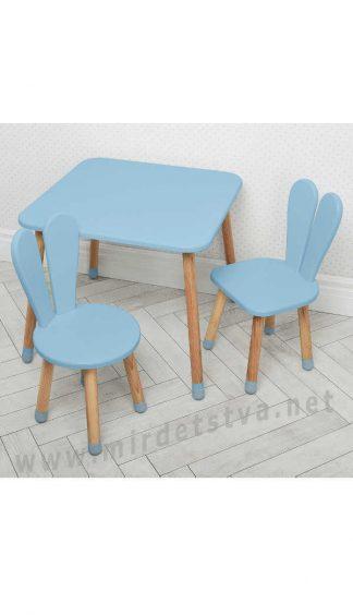 Голубой детский комплект мебели Bambi 04-025BLAKYTN+1