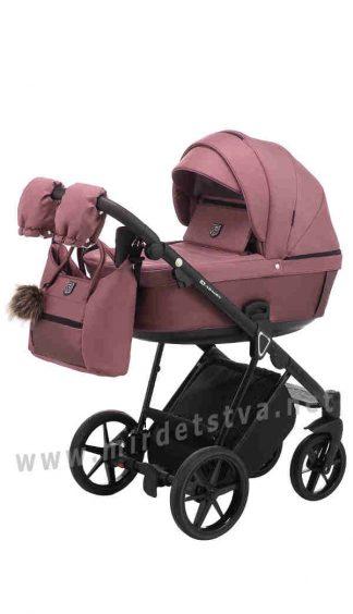 Прогулочная коляска 2в1 Adamex Belissa ECO кожа 100%
