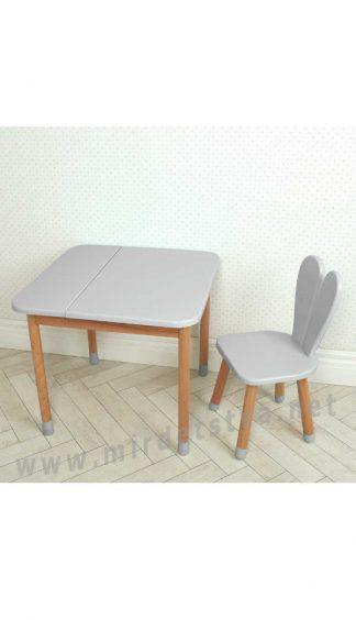Серый комплект мебели для детей Bambi 04-025GREY-BOX