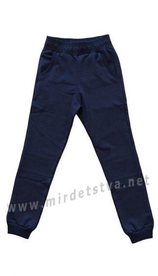 Синие спортивные брюки для мальчика Iceman