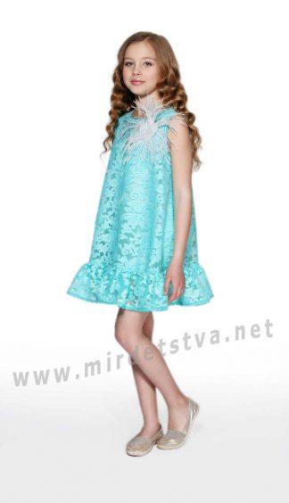 Детское платье на торжество Lukas 9158 мята