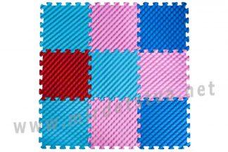 Массажный мягкий коврик Пазлы EVA Дюны 9 элементов