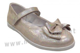 Нарядные туфли пудрового цвета для девочки