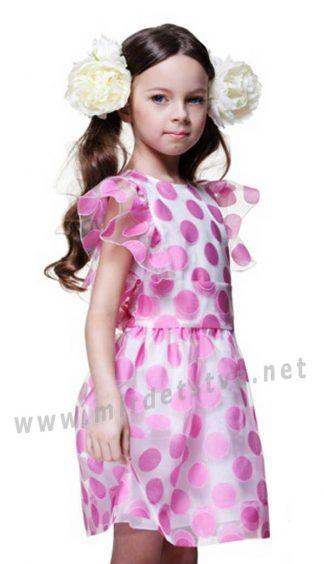 Воздушное детское платье из органзы Lukas 6119