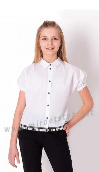 Блузка с коротким рукавом на девочку подростка Mevis 3836-01