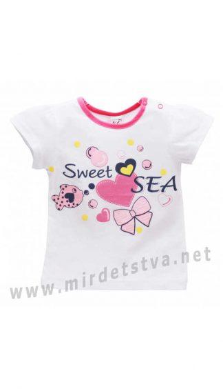 Детская футболка на девочку Valeri tex 1412-55-232-002