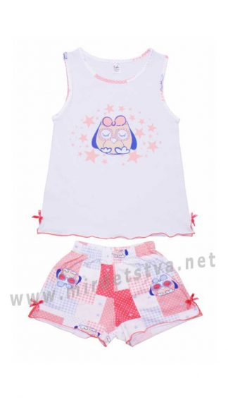 Легкая трикотажная детская пижама Valeri tex 0015-55-242-008