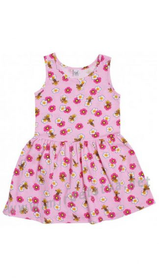 Легкое трикотажное платье на девочку  Valeri tex 2003-99-024-027
