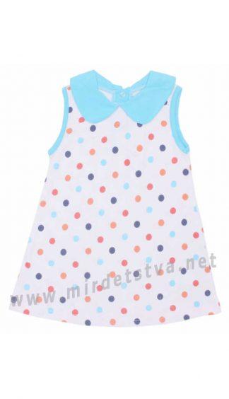 Летнее детское платье хлопок Valeri tex 1804-99-127-027