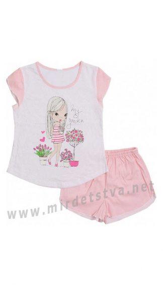 Летняя пижама на девочку Valeri tex 0028-55-024-027-02