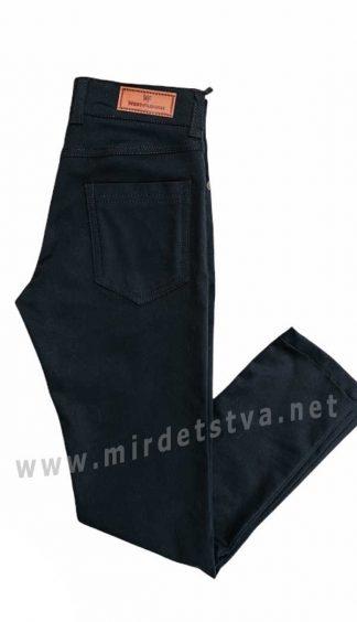 Черные брюки коттон на мальчика West-Fashion А1204М