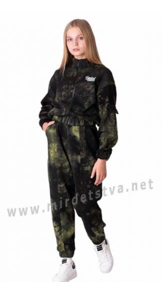 Прогулочный костюм тай — дай для девочки подростка Mevis 3626-02