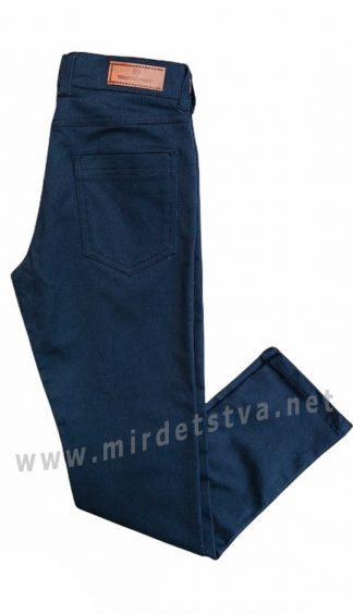 Синие брюки коттон на мальчика West-Fashion А1203М