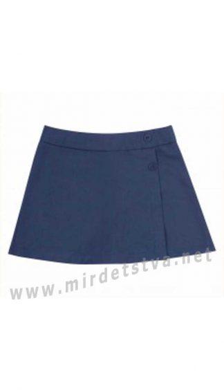 Синие юбка шорты в школу Bembi  ЮБ107