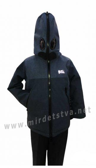 Демисезонная мембранная куртка с очками на мальчика Traveler Antmen