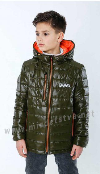 Красивая демисезонная куртка для мальчика на Thinsulate Nestta Alex хаки