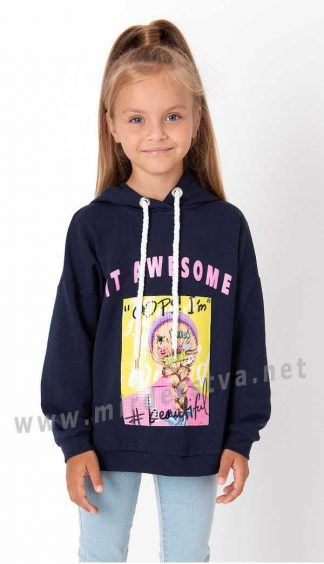 Практичное красивое худи для девочек Mevis 3980-03