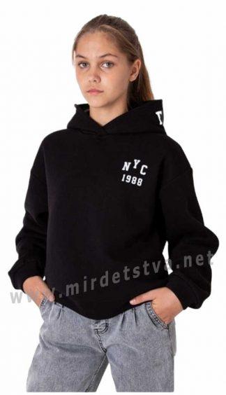 Теплое худи на девочку подростка Mevis 3938-03