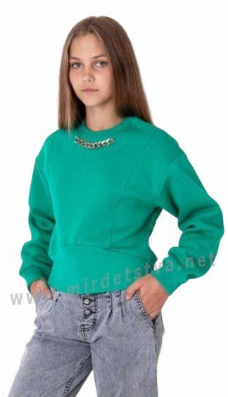 Теплый стильный джемпер на девочку — подростка Mevis 4023-02