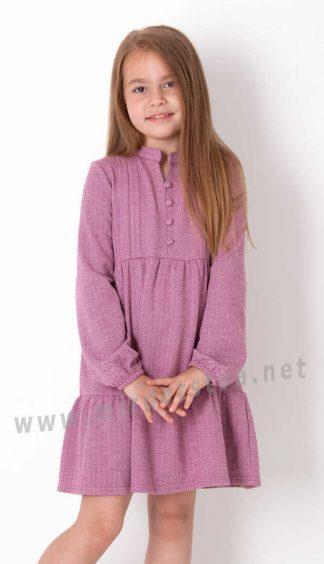 Красивое детское платье с длинным рукавом Mevis 3913-02
