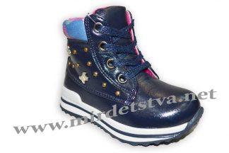 Ботинки для девочки Eebb T512 синие