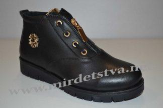 Ботинки для девочки Tops 732-15 черные