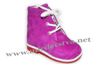Ботинки для девочки Tops Д25 ортопедические фуксия