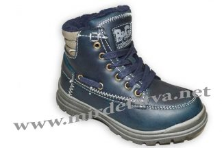 Ботинки для мальчика B&G BG1722-191 синие