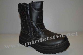 Ботинки зимние для мальчика М+Д 2165 черные