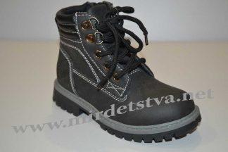 Ботинки для мальчика Солнце 6206-18-G черные