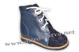 Ботинки для мальчика Tops Д25 ортопедические синие
