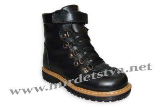 Ботинки зимние для мальчика Tops ЗД-27_н черные