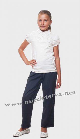 Брюки школьные для девочки KidsCouture 7171711111 синие