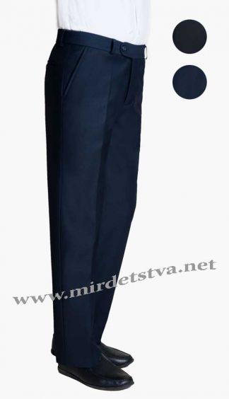 Брюки школьные для мальчика Новая форма Tomas P024.3 синие фото