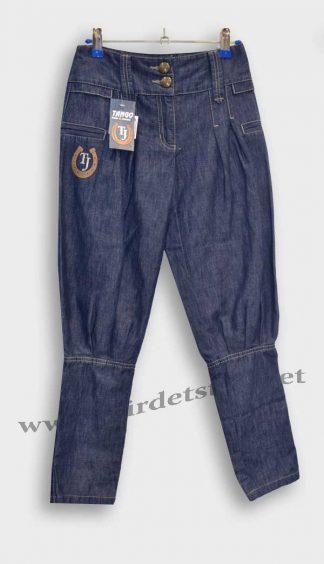 Джинсы для девочки Tango Jeans M-488 темно-синие