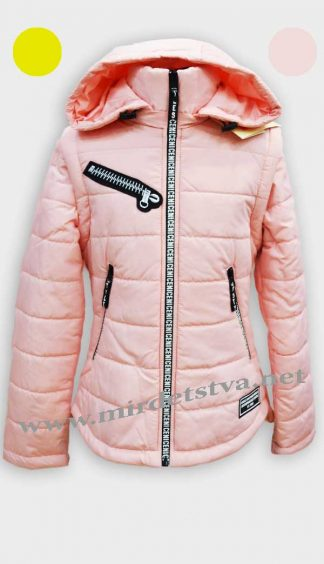 Куртка для девочки Nestta Karamel персиковый -фото