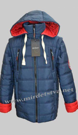 Куртка-жилетка демисезонная для мальчика Bonbon Футбол