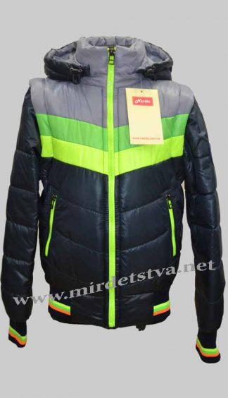 Детская куртка-жилетка демисезонная для мальчика Nestta Maxx 05