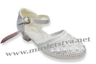 Нарядные туфли для девочки Канарейка КА38
