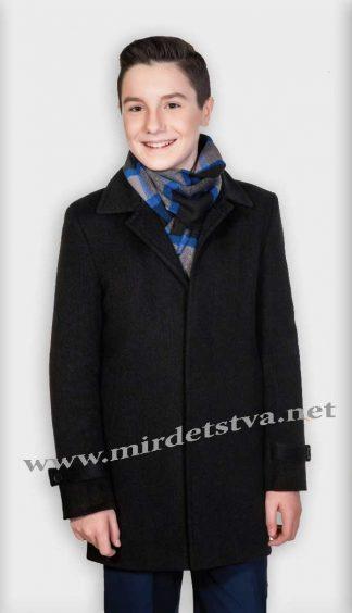 Пальто для мальчика Mayer Denver 7765 Junior черное