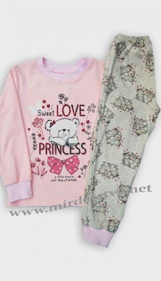 Пижама для девочки Бемби КП189 розовая