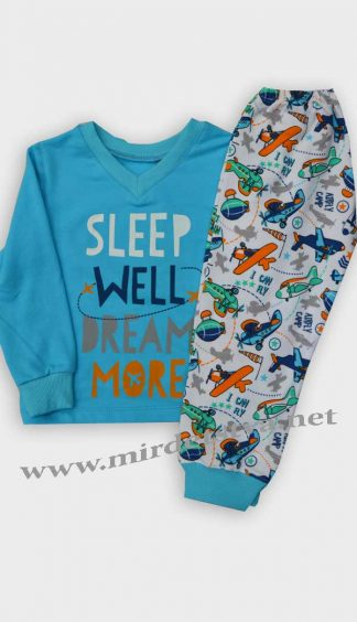 Пижама утепленная для мальчика Бемби ПЖ41