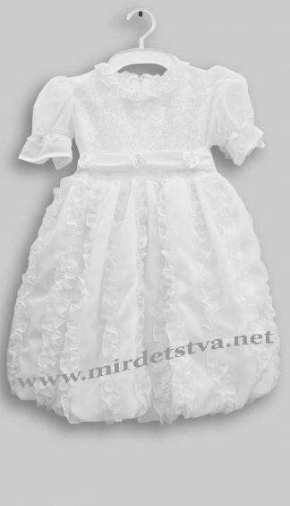 Платье нарядное Dana Жасмин белое
