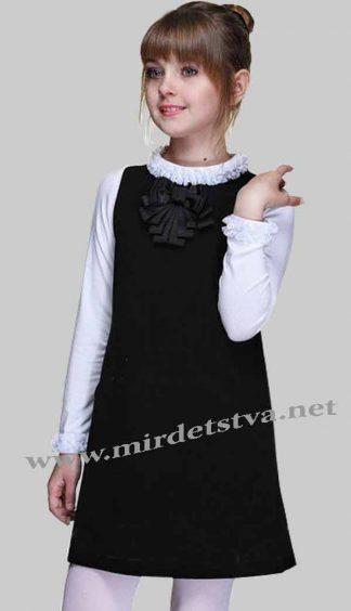 Платье школьное для девочки Lukas 4208
