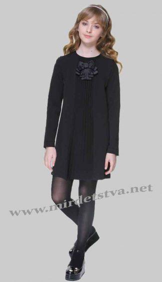 Платье школьное для девочки Lukas 6204 черное