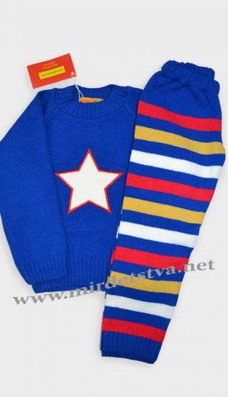 Полушерстяной костюм детский Gusenica «Америка»