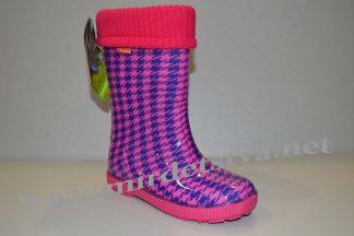 Резиновые сапоги для девочки Demar Hawai Lux Print HF 0049